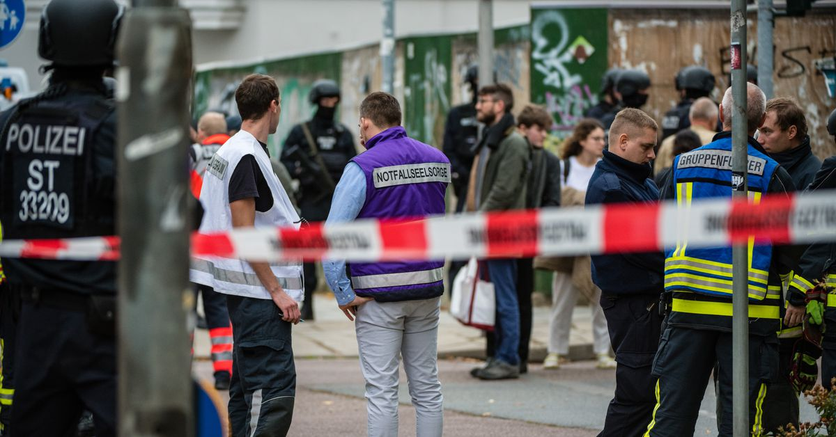 An anti-Semitic shooting in Germany was live-streamed on Twitch