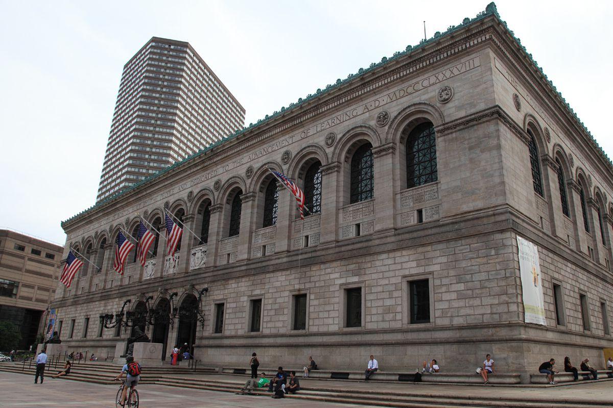 McKim Building at the Boston Public Library