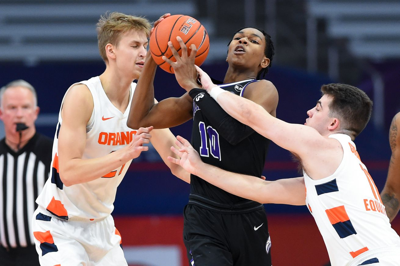 NCAA Basketball: Niagara at Syracuse