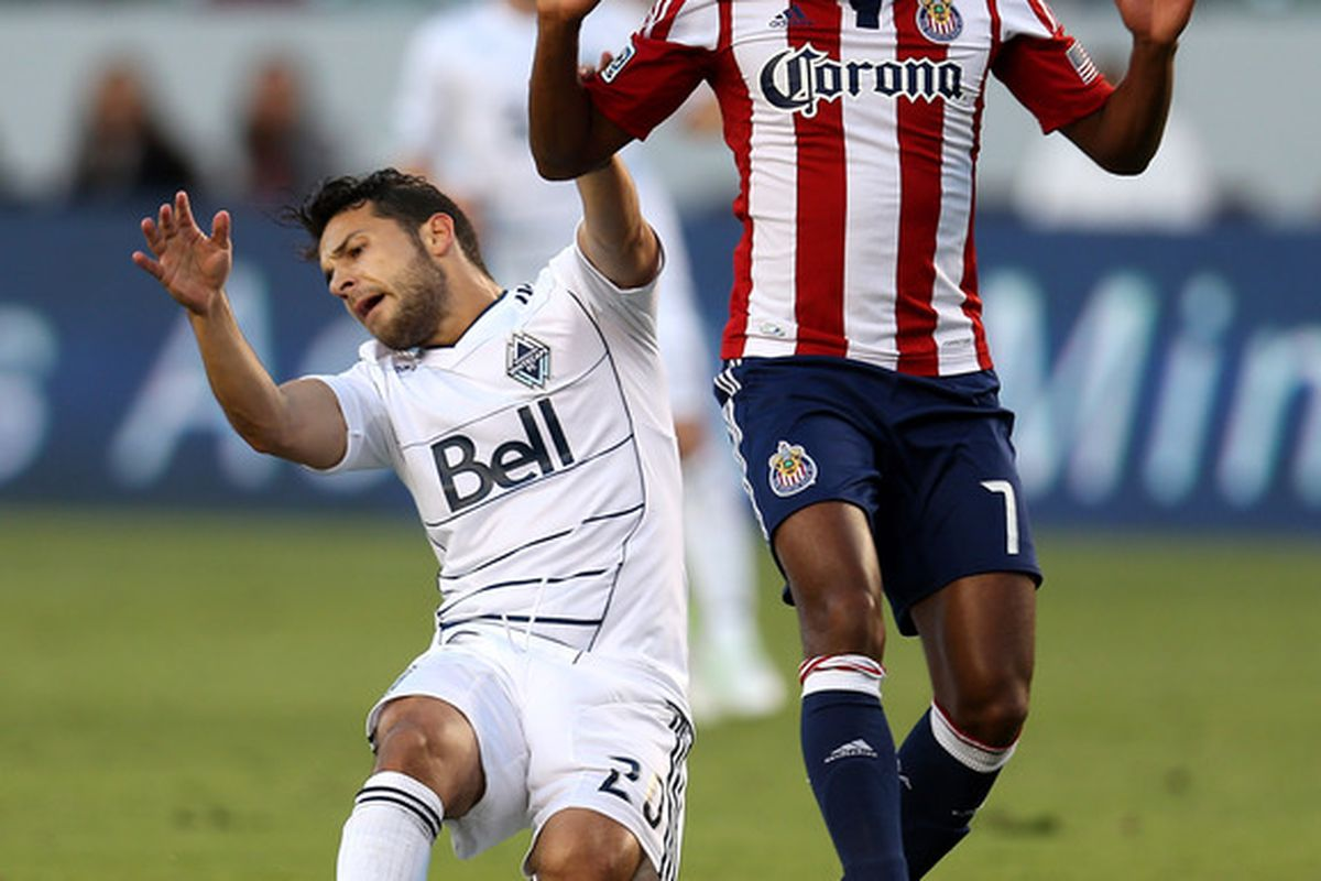 CARSON, CA - JULY 07:  Chivas got another clean sheet Saturday, but the hive mind is not impressed. (Photo by Stephen Dunn/Getty Images)