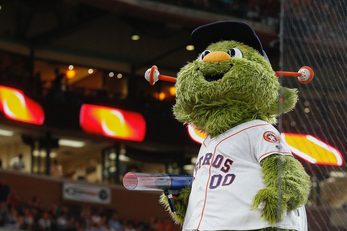 Astros Mascot >> Chris Archer S Beef With The Astros Mascot Escalates With