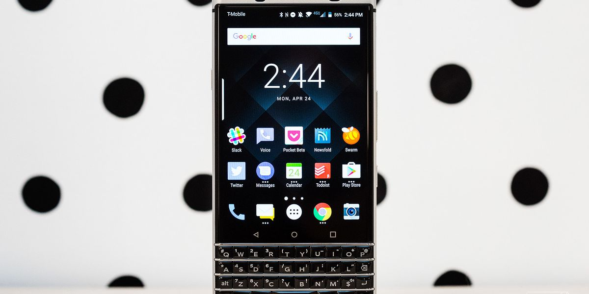 BlackBerry KeyOne review: part productivity, part nostalgia
