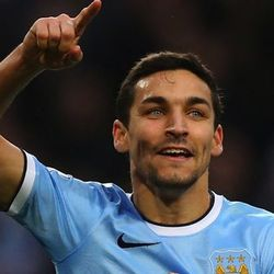 Jesus Navas, Spain. (Navas was cut from the team today, but we're leaving him on the list due to extremely dreamy eyes.)