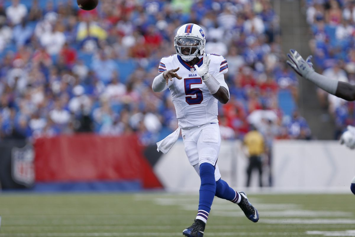 official photos 878c0 061fc Baltimore Ravens tried to trade Tyrod Taylor - Baltimore ...