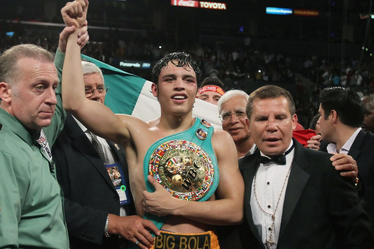 There's so much money in Julio Cesar Chavez Jr that real top fighters are actually concerned about him. (Photo by Jeff Gross/Getty Images)