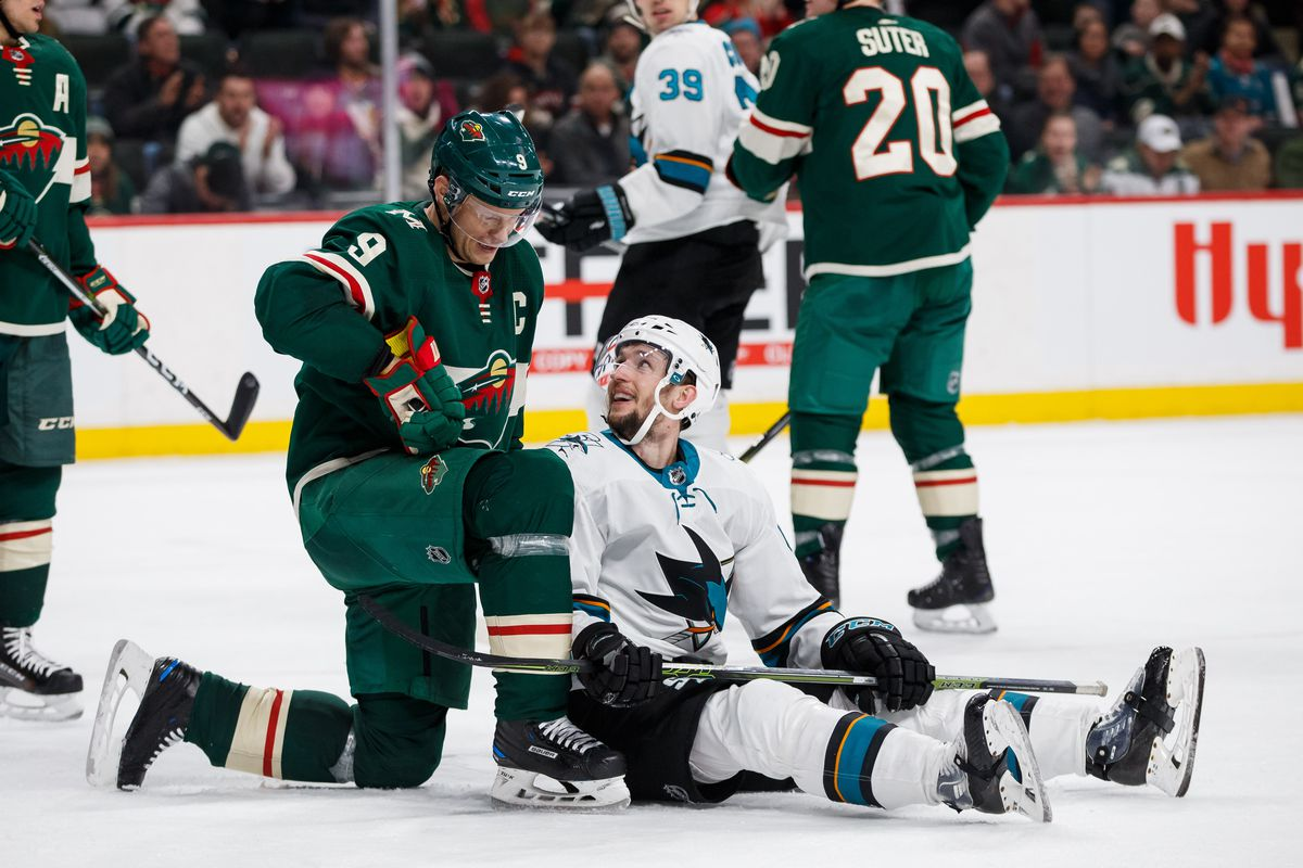 newest c2ff1 6a035 Wild at Sharks Preview: Home ice on the line for Sharks ...