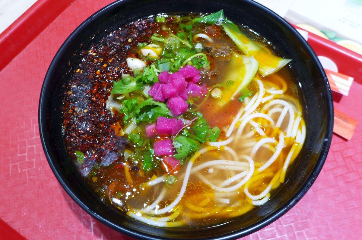 Rice noodles at  Huaxi-Wang Noodles