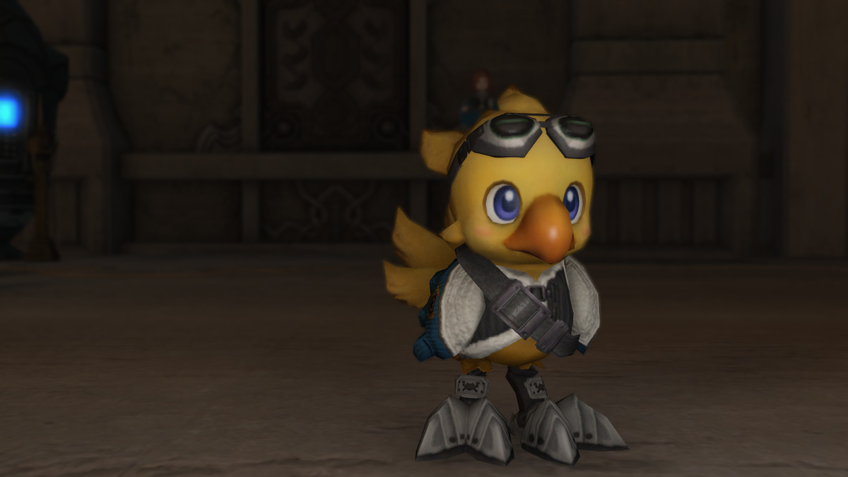Chocobo gets a candy outfit in Closing Story 14.