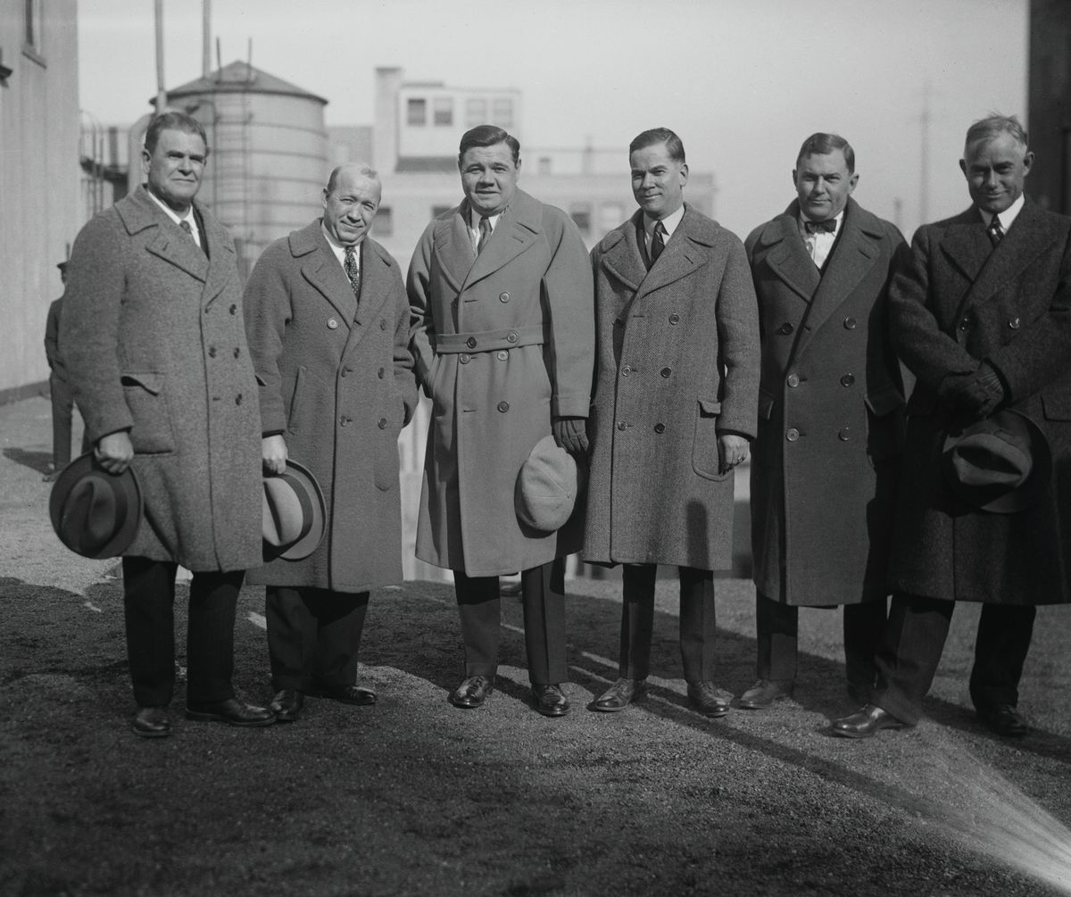 Babe Ruth with Other Sports Notables