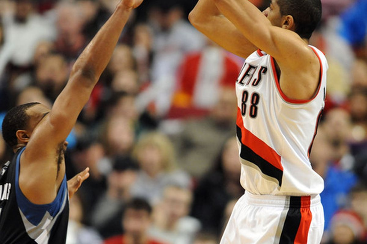 Which of these two jerseys will Nicolas Batum be wearing next season?