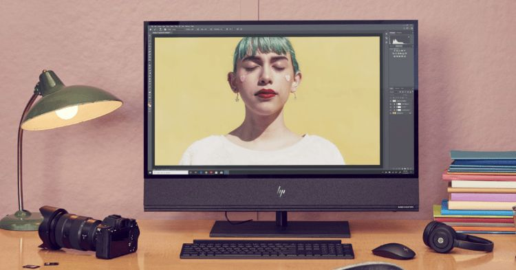 HP's new all-in-one PC wirelessly charges your phone and has an RTX 2080 inside