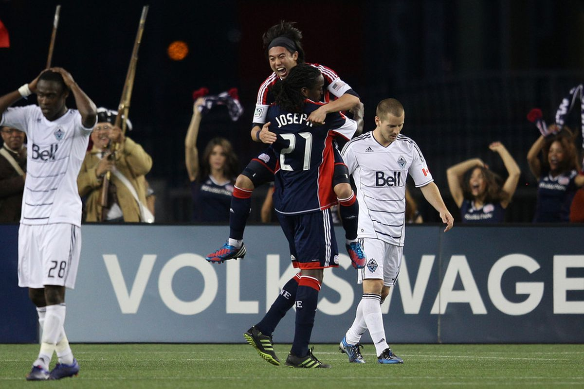 Lee Nguyen shows why he shouldn't have been cut in a dominant performance against the Vancouver Whitecaps on Saturday.