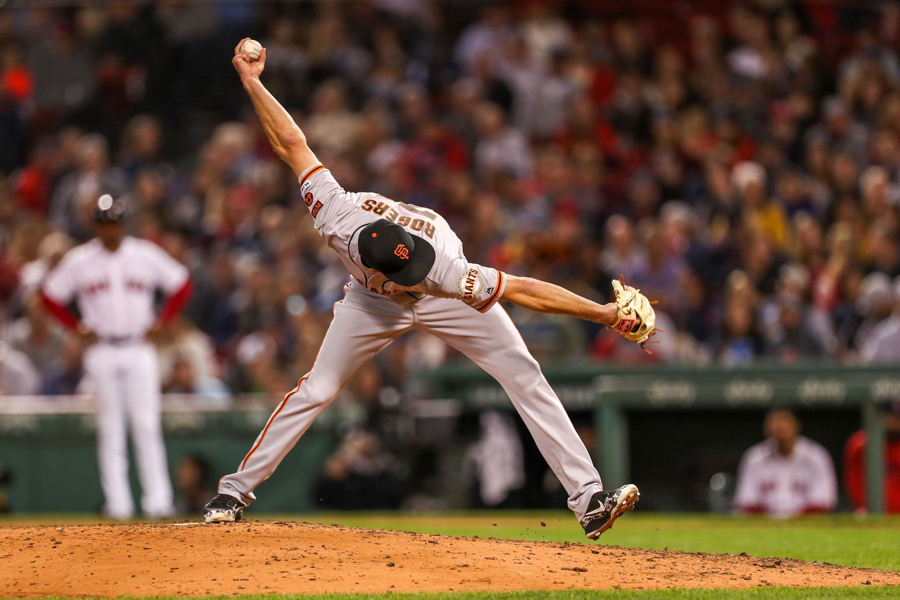 MLB: San Francisco Giants at Boston Red Sox