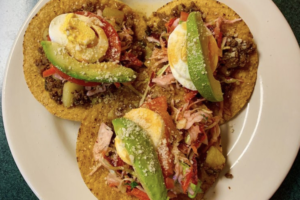 Honduran-style beef enchiladas from Antonio's Coney Island