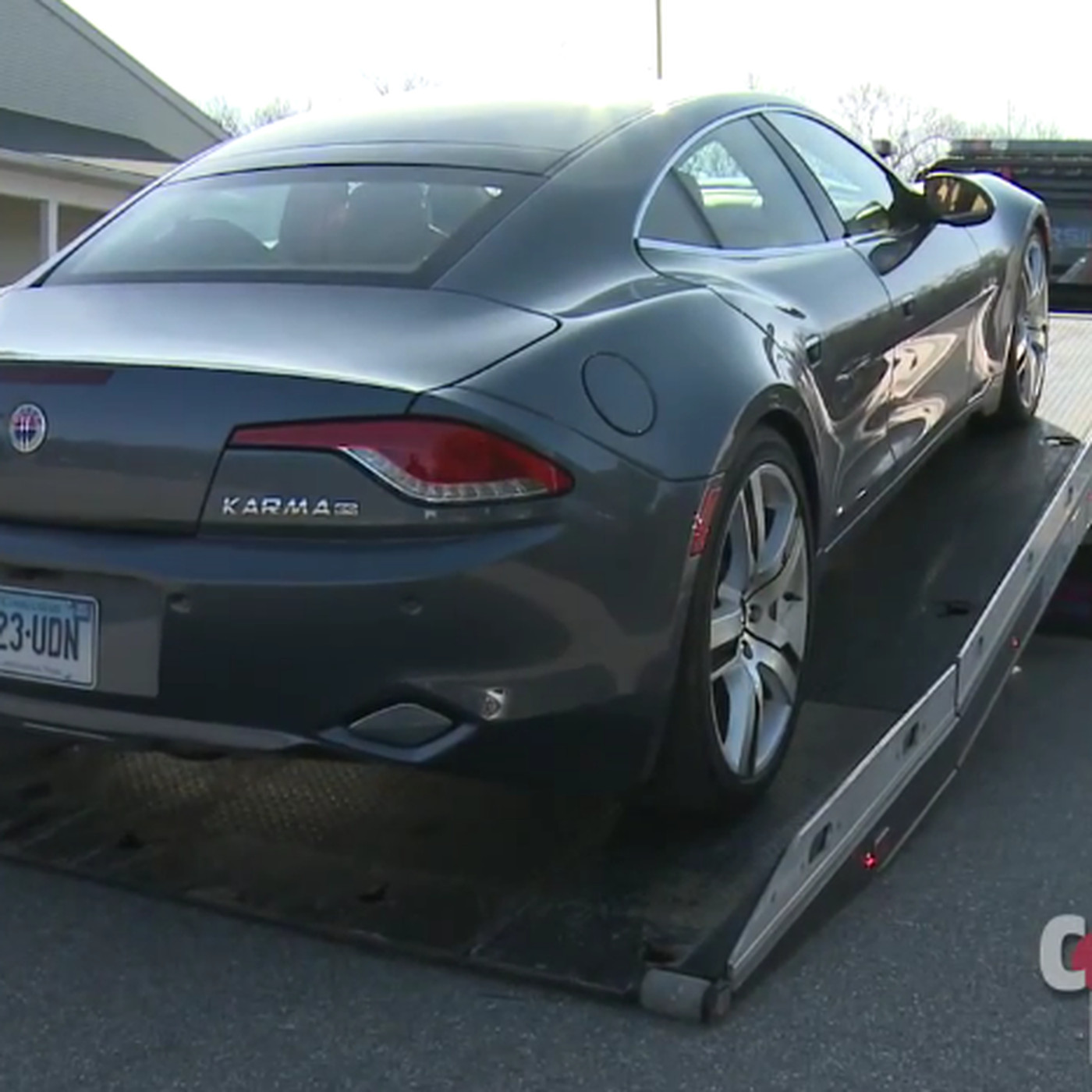 Fisker Karma Hybrid Car Breaks Down During Consumer Reports Testing