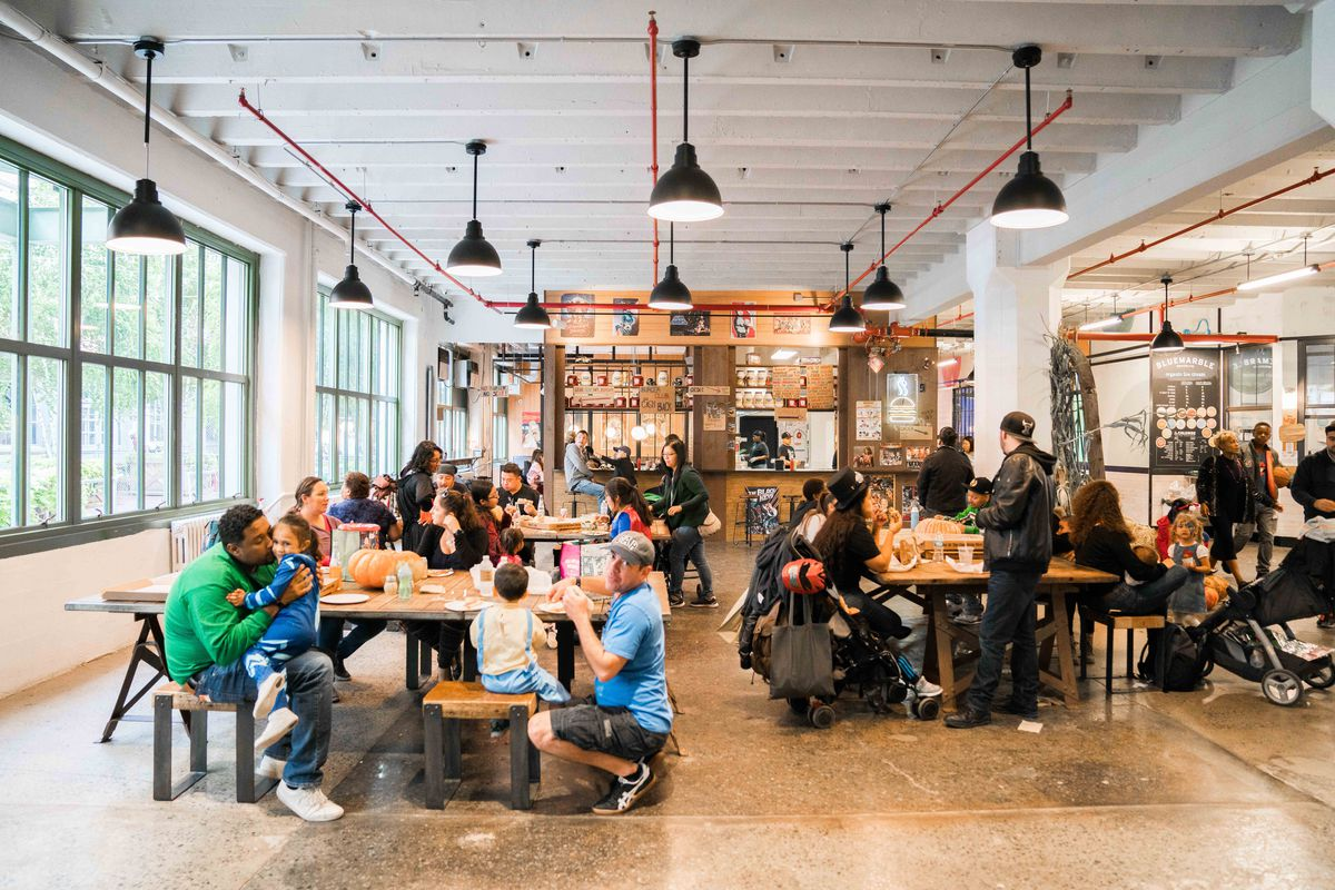 A Guide To Industry City S Food Hall In Sunset Park Eater Ny