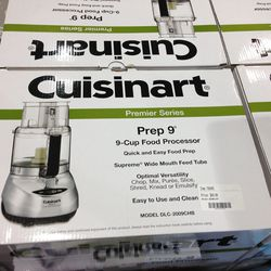 The generously-discounted Cuisnart items are the first to go.