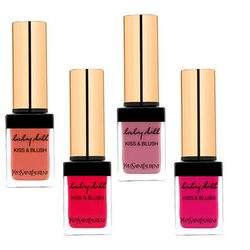 """<b>YSL</b> <a href=""""http://www.yslbeautyus.com/kiss-and-blush/629YSL.html?dwvar_629YSL_color=01%20Fuchsia%20Desinvolte"""">Kiss and Blush</a>: A multi-tasking beauty product is a year-round must, but especially in the summer—who wants to pack and unpack 10 d"""