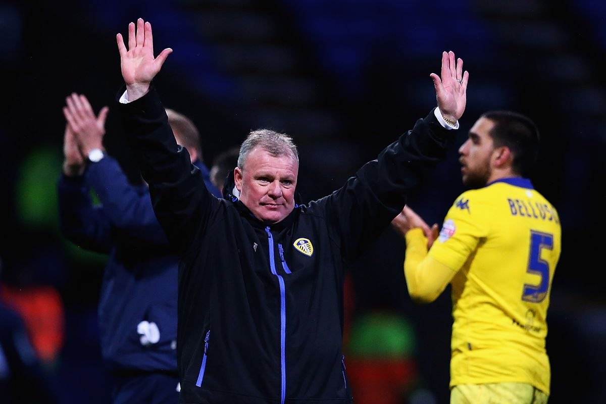 Leeds not surrendering; they actually won last time they faced Bolton.