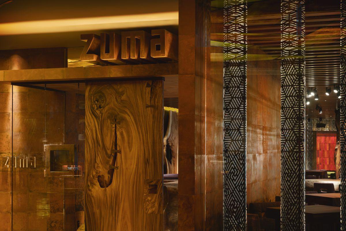 The entrance to Zuma