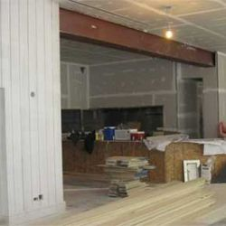 The front room will have the main bar and various seating
