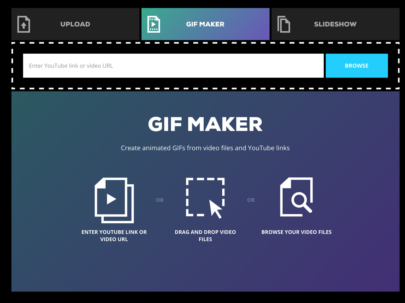 Giphy launches a super simple GIF creator for the web   The Verge