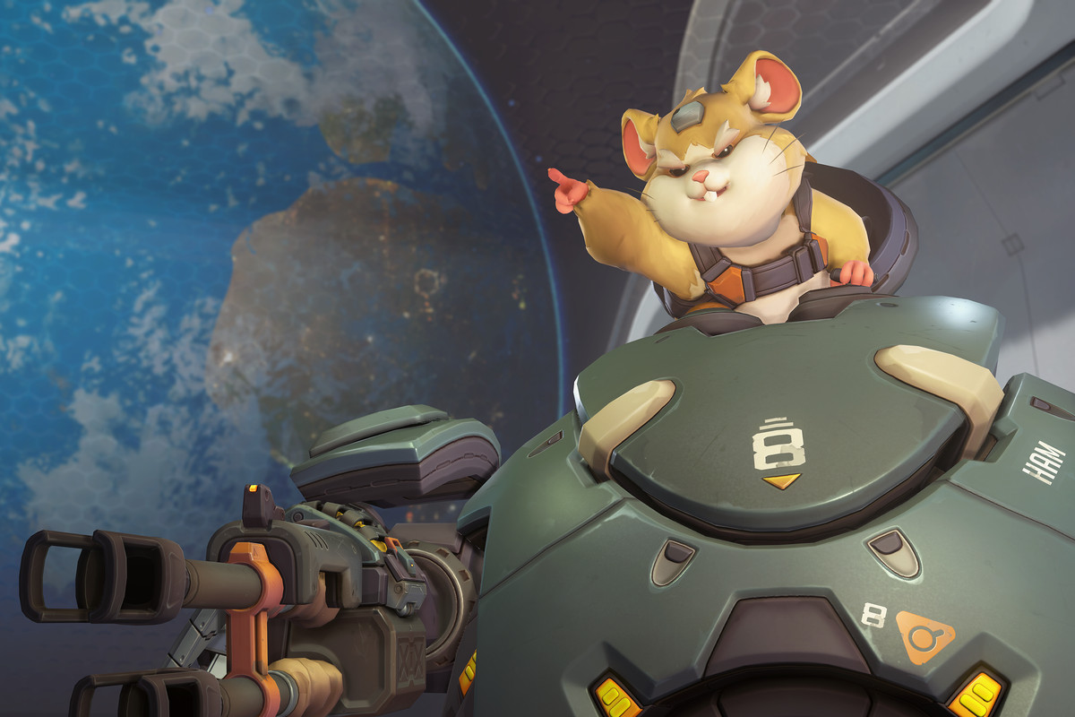I love Overwatch, and it's all thanks to this stupid hamster