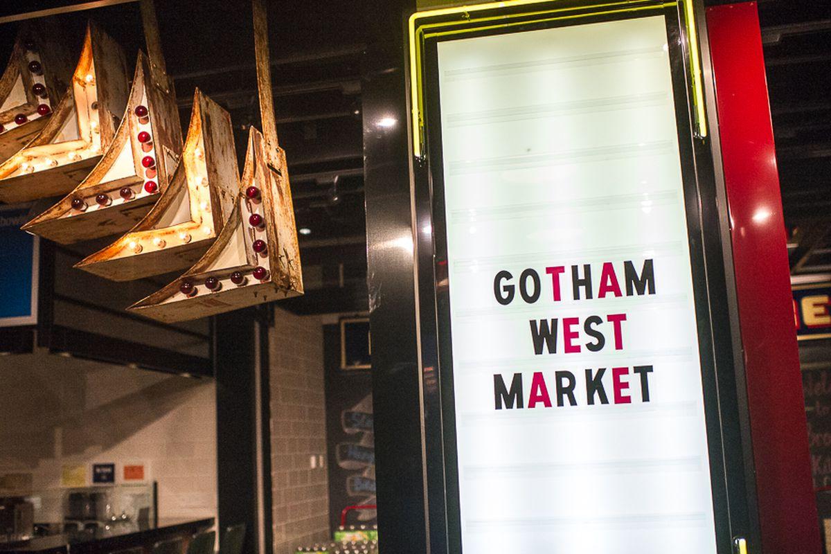 [The original location of Gotham West Market]
