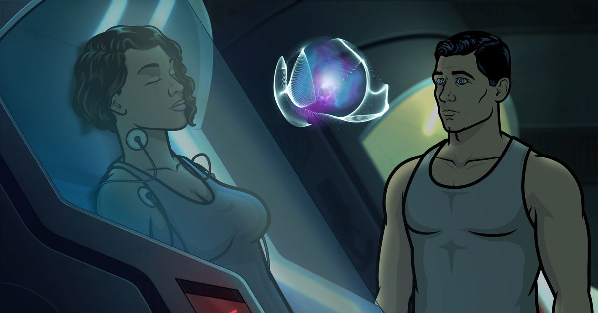 Archer is weirder than ever in the season's episodic space adventure