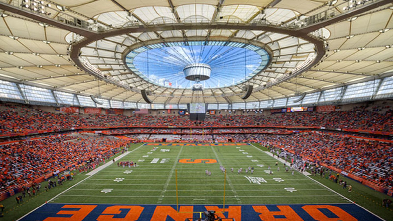 New Carrier Dome Roof Intends To Let The Light In Troy