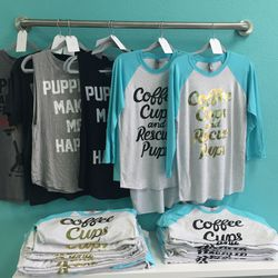 Doggie lovers will want to take home these tees.