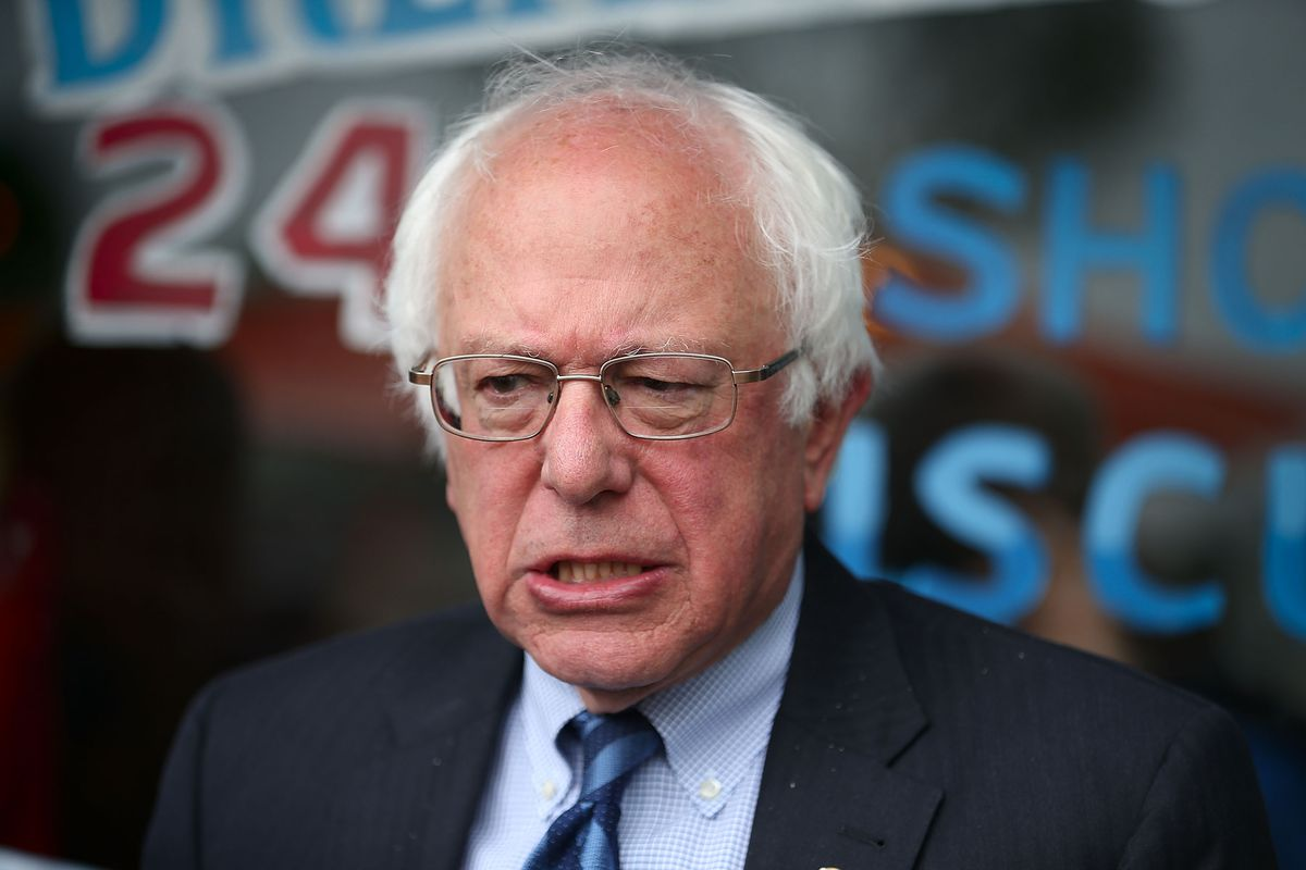 Bernie Sanders Campaigns In Indiana On Day Of State's Primary