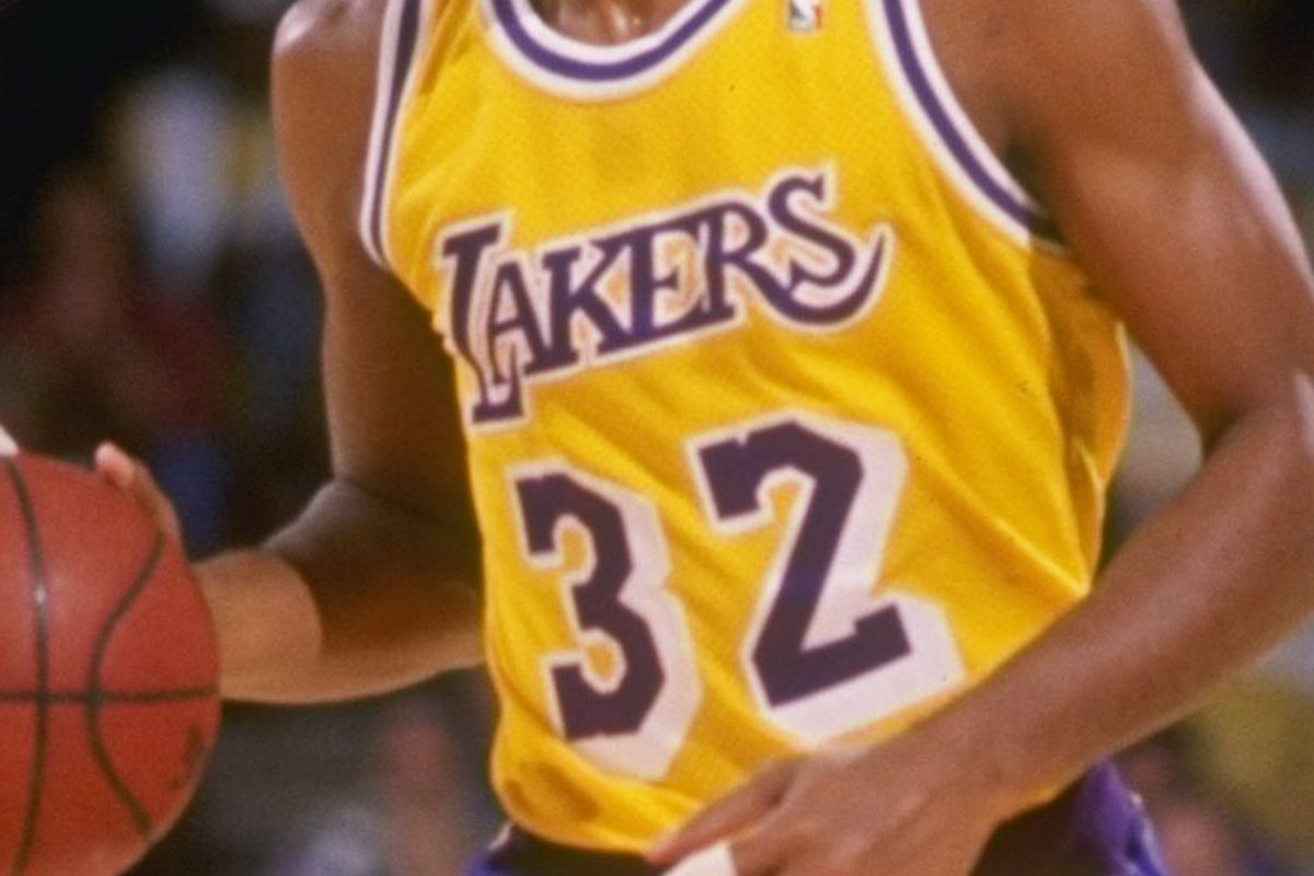 Lakers Season Countdown: 32 days, Earvin Johnson - Silver