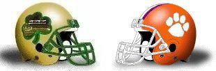 Clemson helmet
