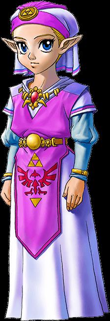 Zelda in The Legend of Zelda: Ocarina of Time