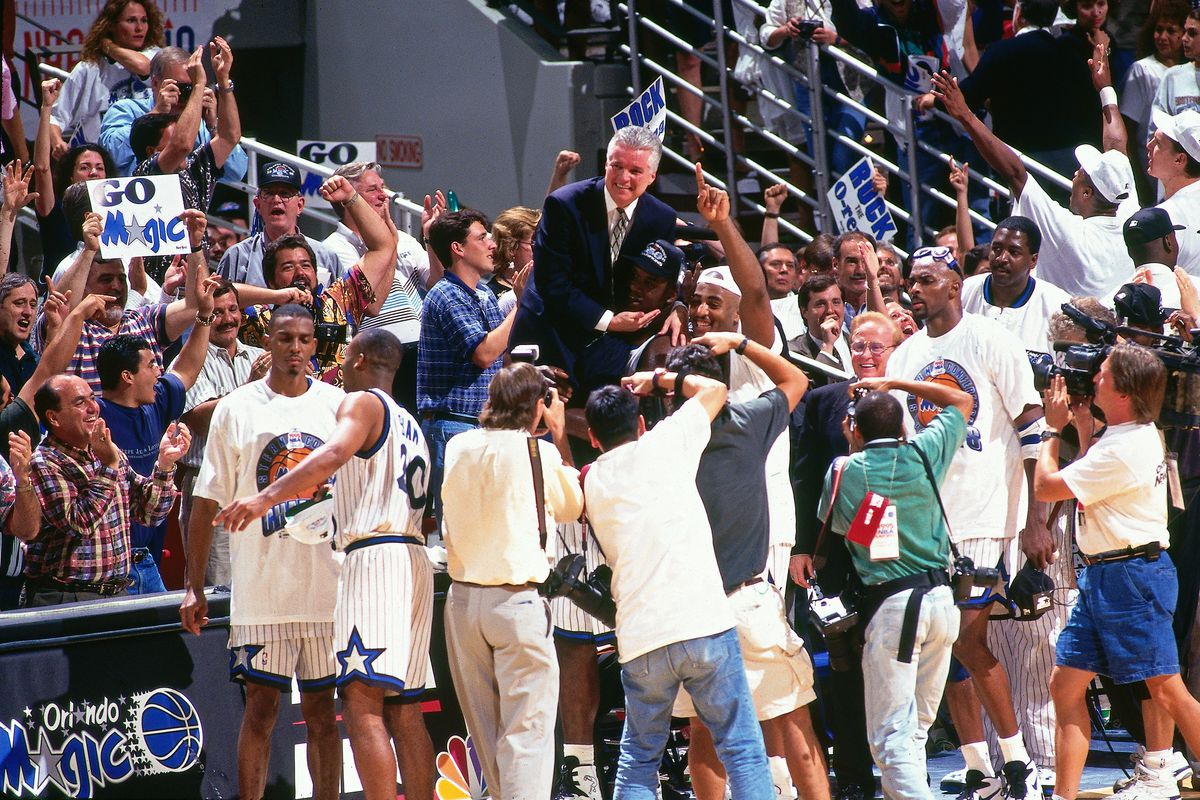 1995 Eastern Conference Finals Game Seven: Indiana Pacers v Orlando Magic