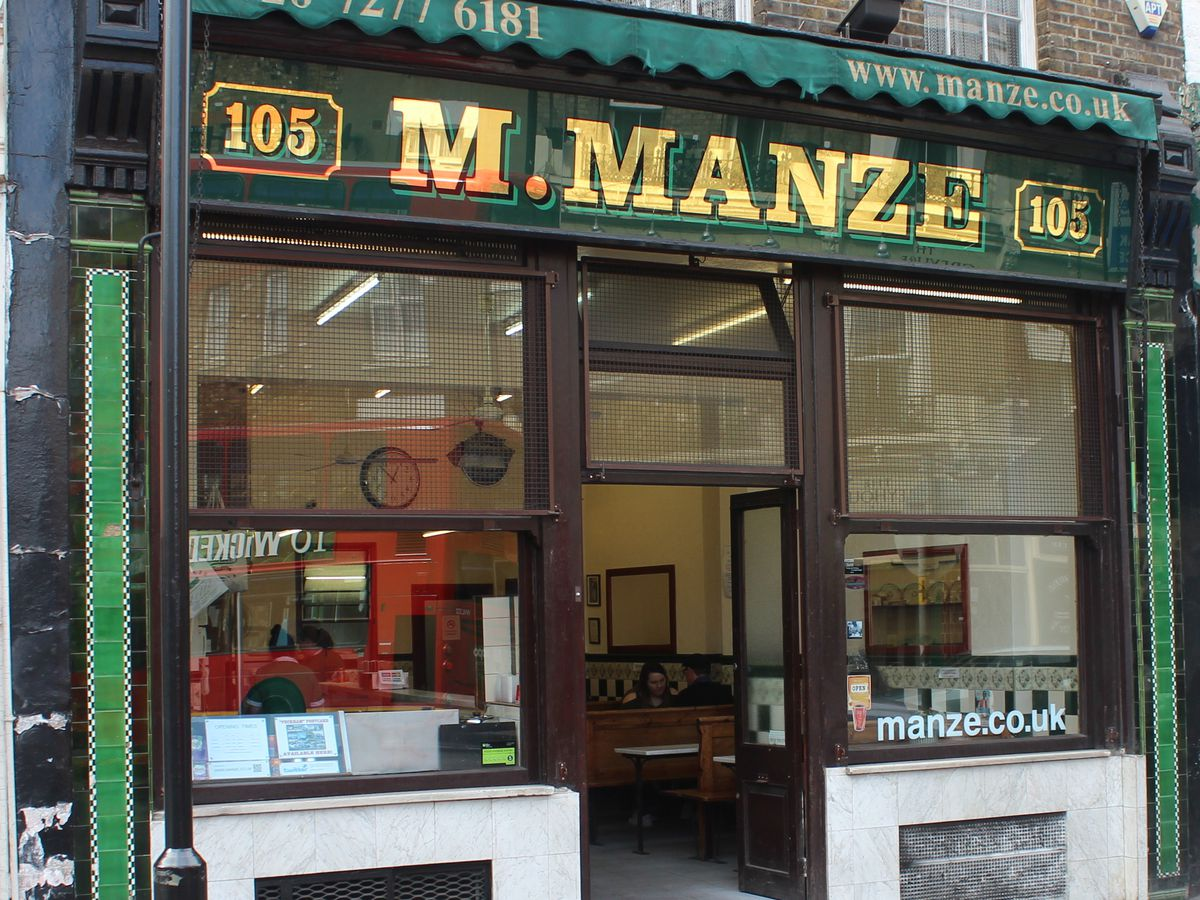 Pie and mash in London: London's best pie and mash shops include M. Manze in Peckham