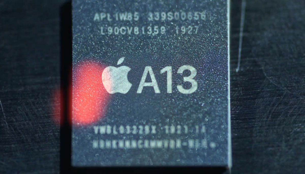 Apple says A13 Bionic chip brings hours of extra battery