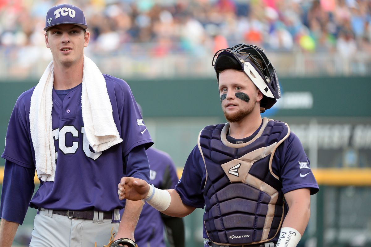 These two guys will be back to try and take the Frogs to Omaha for a fourth straight year.