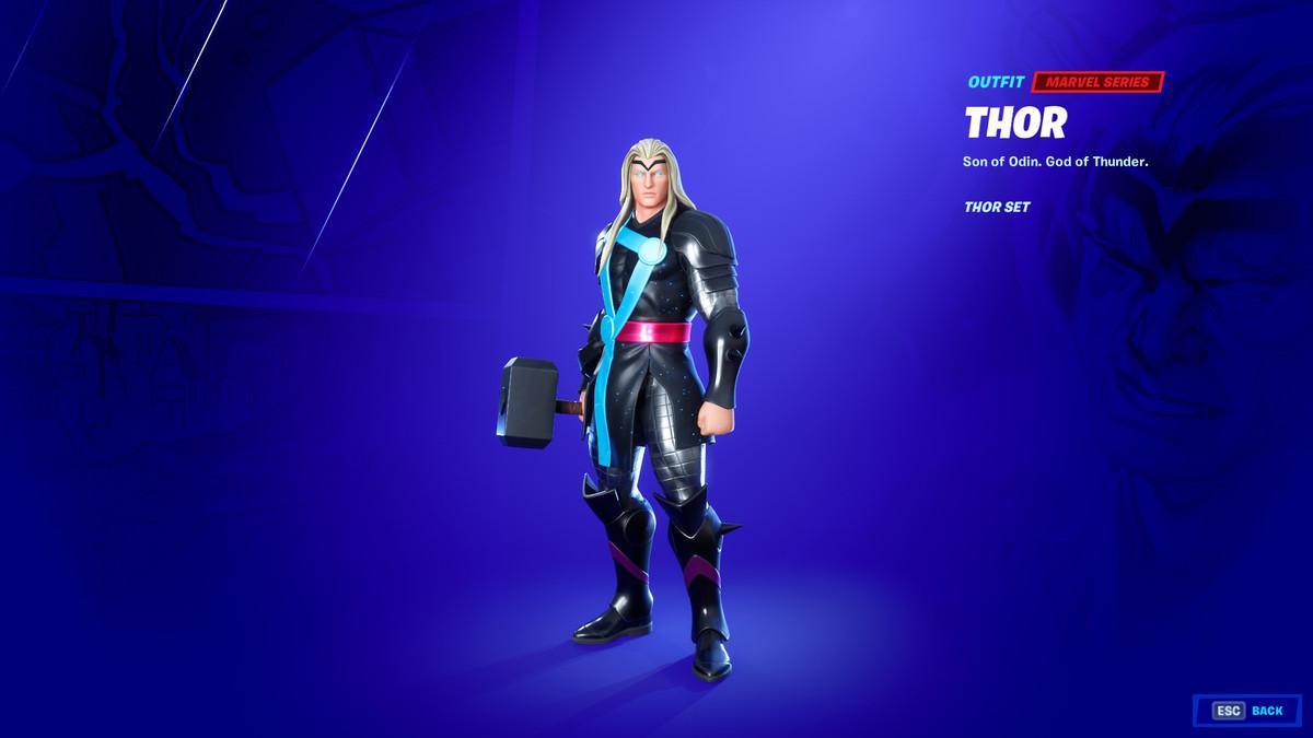 Fortnite's Thor skin
