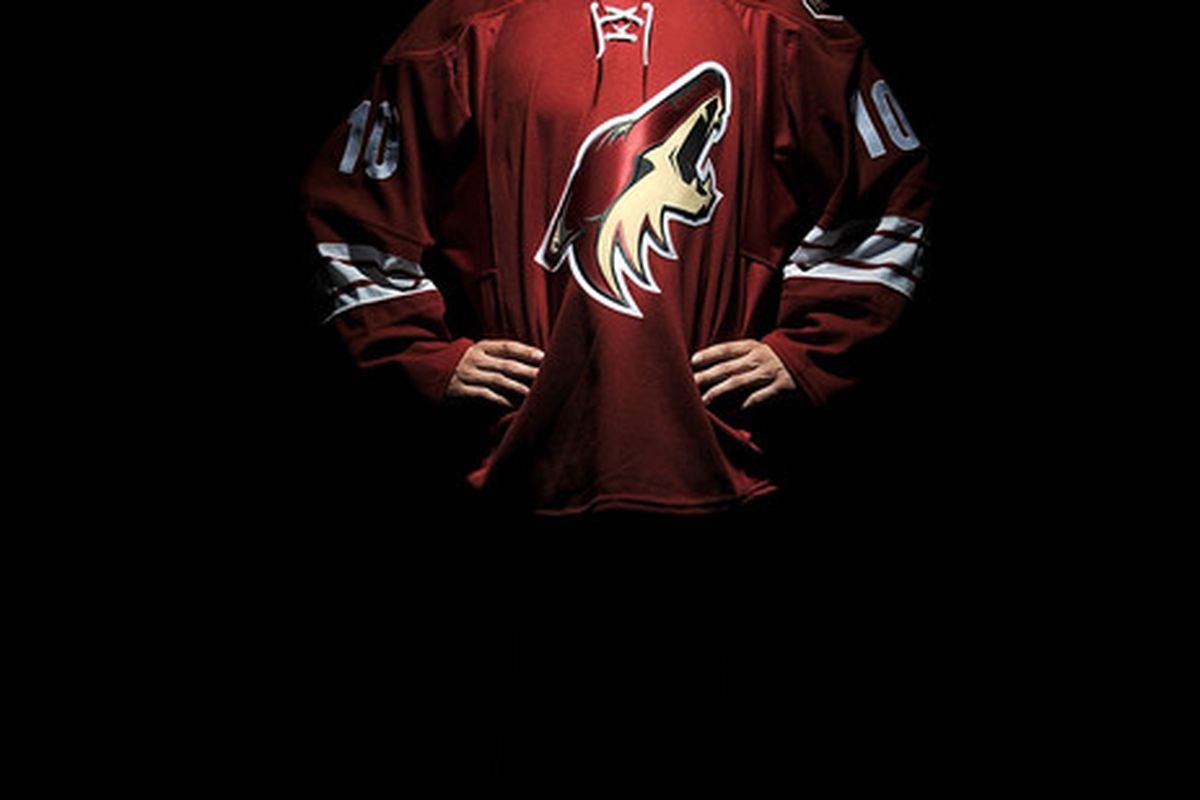 LOS ANGELES, CA - JUNE 25:  Brandon Gormley, drafted 13th overall by the Phoenix Coyotes, poses for a portrait during the 2010 NHL Entry Draft at Staples Center on June 25, 2010 in Los Angeles, California.  (Photo by Harry How/Getty Images)