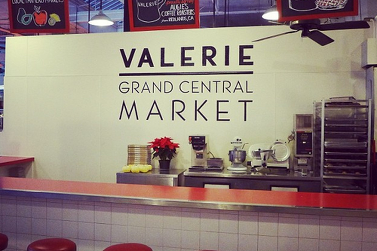 Valerie at Grand Central Market, Downtown.