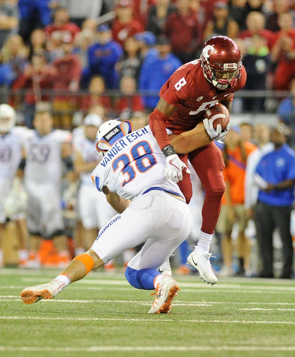 NCAA Football: Boise State at Washington State