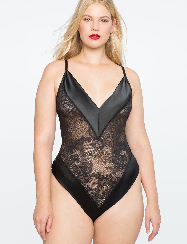 Allover Lace Bodysuit