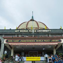 The 71st Independence Day celebration at the MIT World Peace University in Pune, Maharashtra, India, on August 15, 2017.