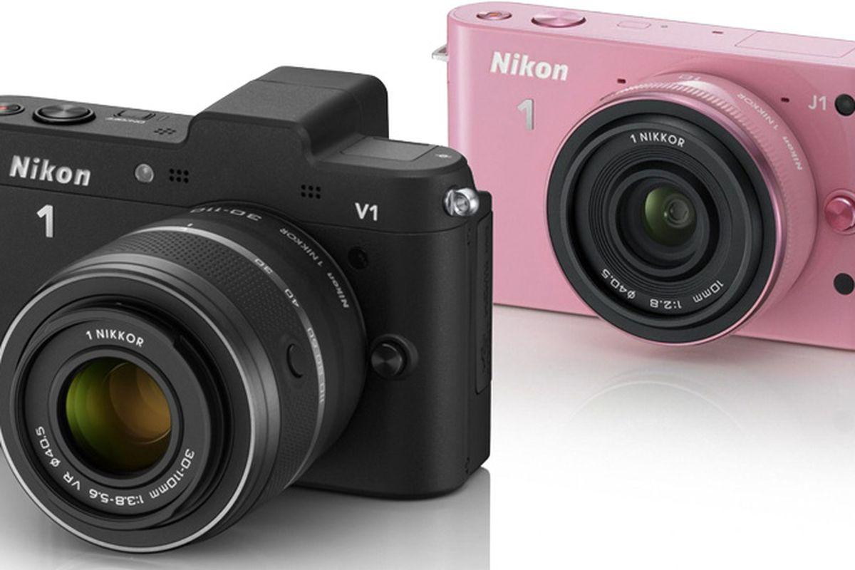 Nikon J1 and V1