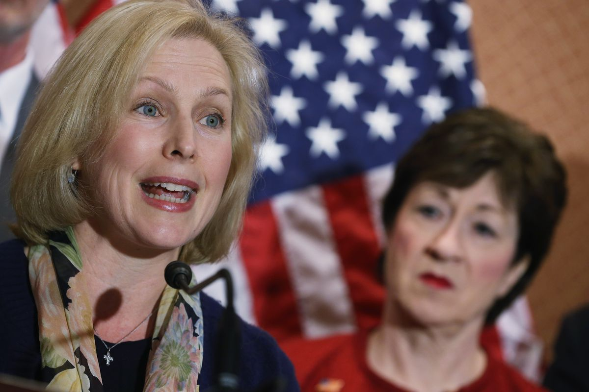 Sens. Gillibrand, Collins introduce amendment to block Trump's transgender military ban