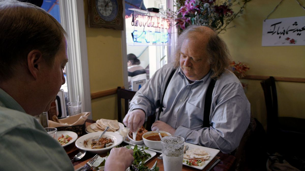 The LA Times food critic Jonathan Gold, in the 2015 documentary City of Gold.