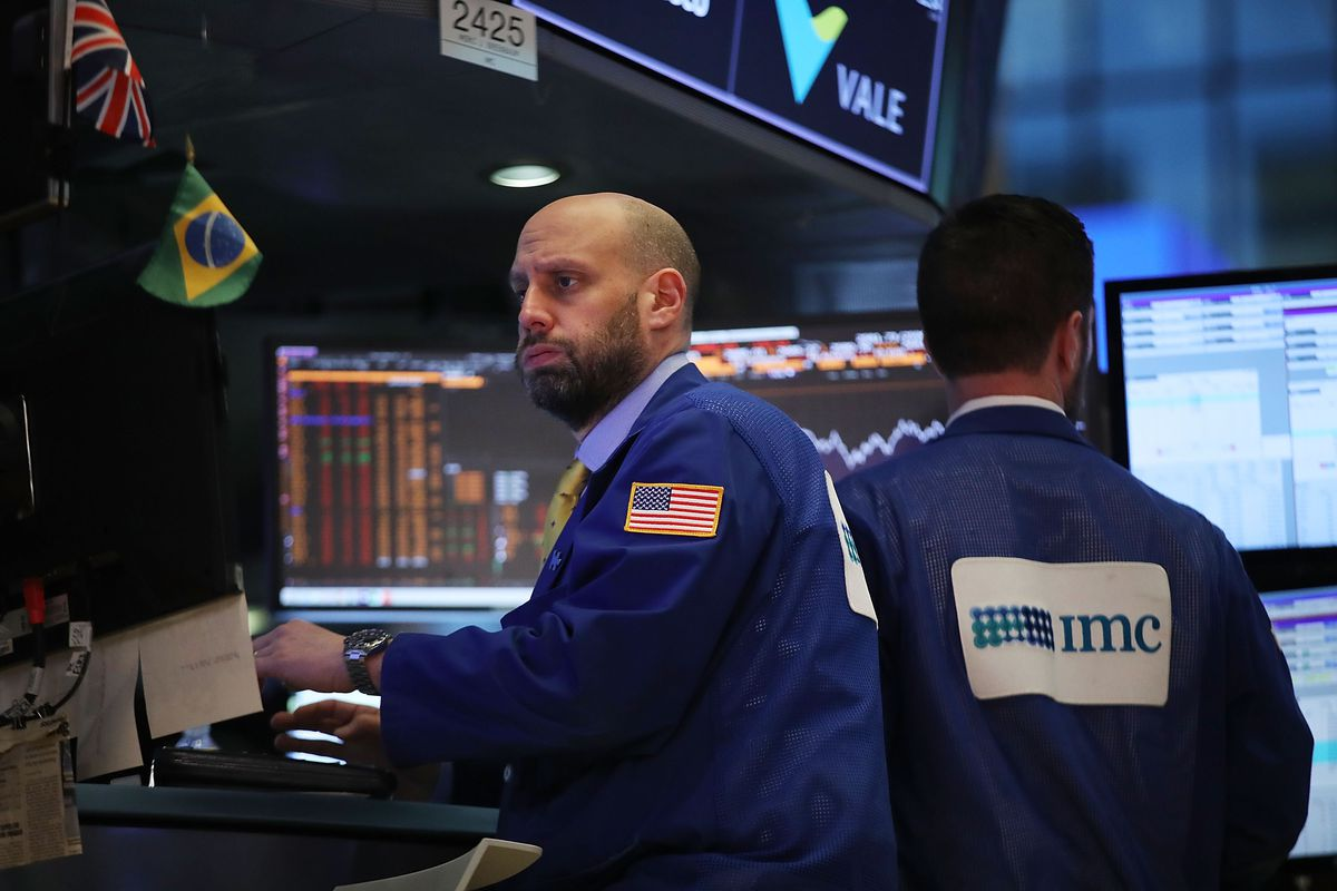 U.S. Stocks Continue Week Of Extreme Volatility, With Steep Drop Over A 1,000 Points