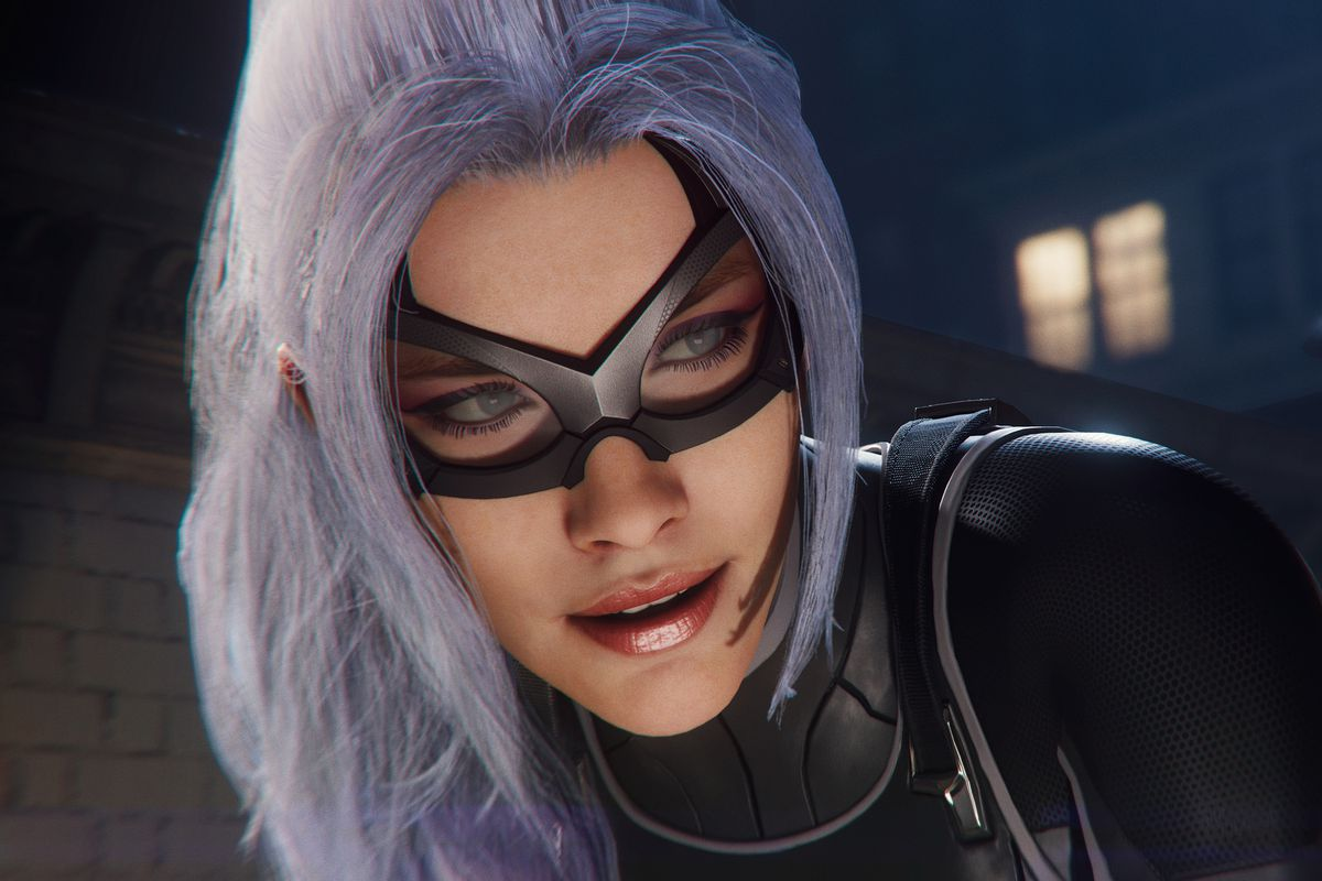 Spider Man Ps4 S New Dlc Makes Some Changes To The Original Black Cat Polygon